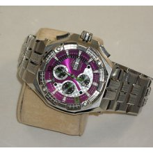 Renato Mostro Limited Edition Only 50 Made Valjoux 7750 Rare Purple Dial