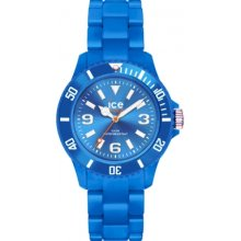 SD.BE.S.P.12 Ice-Watch Ladies Ice-Solid Blue Small Watch