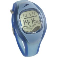Speedo Pro Beach Series Digital World Time Watch - Bondi Blue - Worldg03