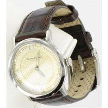 Tommy Bahama Women's Steel Shadow Pineapple Dial Watch Tb2054 Retails $195