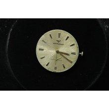 Vintage Mens Wittnauer Wristwatch Movement Caliber 76/36 Revue Running