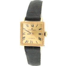 Vintage Universal Geneve Automatic Her 14k Gold Watch