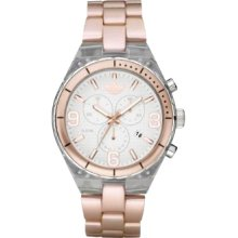 Adidas ADH2546 Pink Plastic with White Dial Unisex Watch