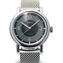 Aristo 4H190SEL Retro Mercedes Dashboard Clock Design Automatic Watch