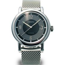 Aristo 4H190SL Retro Mercedes Dashboard Clock Design Automatic Watch