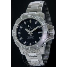 Ball Engineer Hydrocarbon Deep Quest 3000m II 43mm Watch - Black Dial, Titanium Bracelet DM3000A-SCJ-BK Sale Authentic Tritium