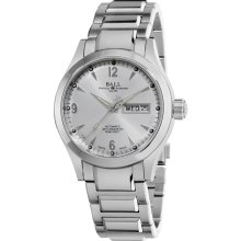 Ball Engineer I I wrist watches: Ohio Day/Date Silver Dial nm1020c-s5j