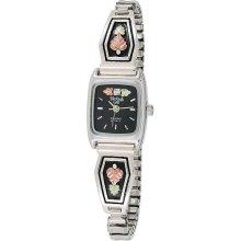 Black Hills Gold Sterling Silver & 12K Leaf Watch