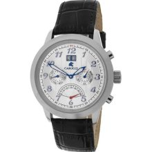 Carucci Ca2121wh Varese Mens Watch Low Price Guarantee + Free Knife
