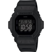Casio G-shock Black Resin Band Digital Women's Ladies Sport Watch Bg5606-1