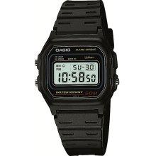 Casio W59-1 Men's Classic Digital Grey Dial Black Alarm Chrono Watch