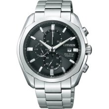 Citizen Collection Ca0021-53e Eco-drive Titanium Sapphire Solar Power Watch