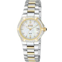 Citizen Watch, Womens Eco-Drive Riva Two Tone Stainless Steel Bracelet