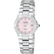 Citizen Watch, Womens Eco Drive Stainless Steel Bracelet 19mm EW0890-5