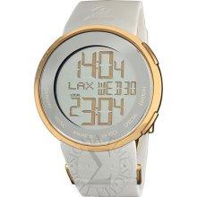 Gucci Mens Grammyedition Digital White Strap Watch Ya114216