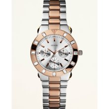 GUESS Feminine High-Shine Sport Mid-Size Watch