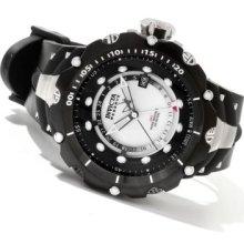 Invicta Reserve Men's Venom Gen II Swiss Made Quartz GMT River Pearl Dial Strap Watch