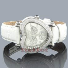 Joe Rodeo Diamond Heart Shaped Watch 0.75ct