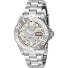 Mens Invicta Sapphire Automatic Diver Watch in Stainless Steel (7048)