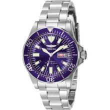 Mens Invicta Sapphire Automatic Diver Watch in Stainless Steel (7042)