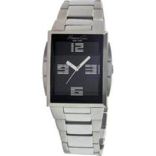 Mens Kenneth Cole New York Steel Watch KC3943