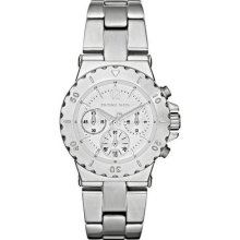 Michael Kors Chronograph Stainless Steel Ladies Watch Mk5498