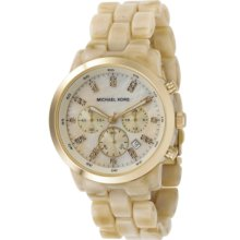 Michael Kors Watch, Womens Chronograph Showstopper Stainless Steel and