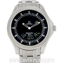 Omega Seamaster 120M Steel Analog Digital Watch 2521.81.00