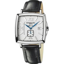 Raymond Weil Tradition Automatic Ivory Dial Stainless Steel Mens Watch 2836-ST-00307