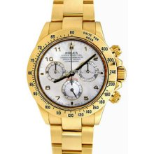 Rolex Cosmograph Daytona Yellow Gold Mens Sport Watch #116528