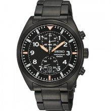 Seiko Men Watch Chronograph 7t94 100m Sport Warranty Snn237 Snn237p1 Snn237p