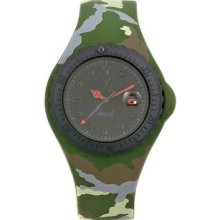Toy JYA05HG Jelly Plastic Resin Case Black Dial Camouflage Silicone