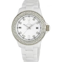 Toy Watch White Plasteramic Classic Collection Ladies Watch 32208-WH