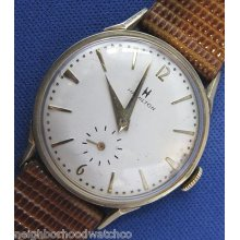 1960s Hamilton Manual Wind 10k Gold Filled Wristwatch