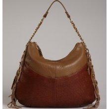 $748 Bodhi Gansevort Chain Hobo,tote,handbag,clutch,bag