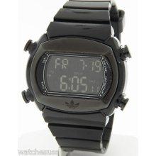 Adidas Men's Adh1697 Black Candy Digital Rubber Strap Quartz Watch