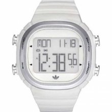 Adidas White Plastic Unisex Watch ADH2120
