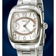Arbutus:new York Borough Automatic -smoke White Dial -mens Watch -msrp $1,555.00