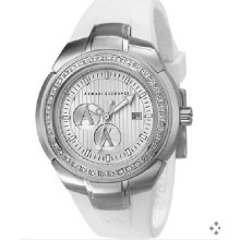 Armani Exchange Ax5057 Women's White Sports Watch