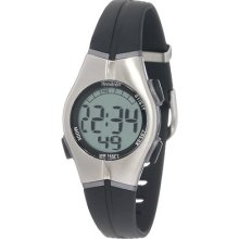 Armitron Women's 456963blk Sport Chronograph Black Resin Strap Digital Display W