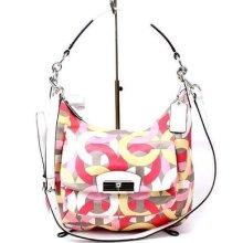 Authentic Coach Kristin Chain Link Hobo Purse Bag 22745