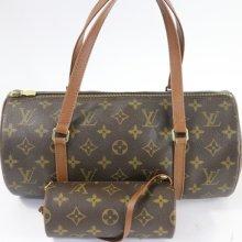 Authentic Louis Vuitton Papillon 30 Gm Bag W/mini Accessories Pouch 7631