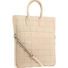 Badgley Mischka Nude Kisha Tote Handbag Purse $398.00 Sold Out Nwts