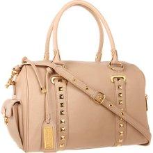 Badgley Mischka Paula Soft Pebble Satchel Satchel Handbags : One Size