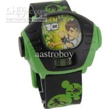 Ben 10 Boy's Cartoon Digital Projection Wrist Watch Children Gift Mi