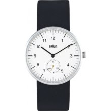 BN0024WHBKG Braun Mens White Black Watch