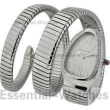 Bvlgari Serpenti Ladies with Diamond Bezel SP35C6SDS.2T/L