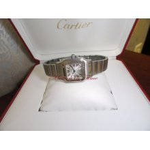 Cartier Santos Galbee Ladies' Stainless Steel Automatic Ref W20054d6