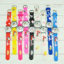 Cartoon Children Watches Kids Wrist Watches Tom & Jerry Silicone