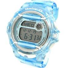 Casio Baby-g Digital Resin 200m Ladies Watch Bg169r-2